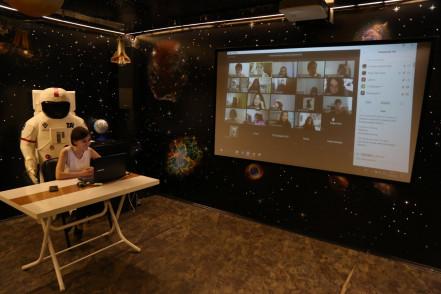 Ali Kuşçu Uzay Evi Çevrimiçi Eğitimleri'ne Yoğun İlgi