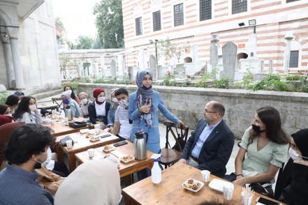 Eyüpsultanlı Gençler, Zal Mahmut Paşa Külliyesi'nde Buluştu