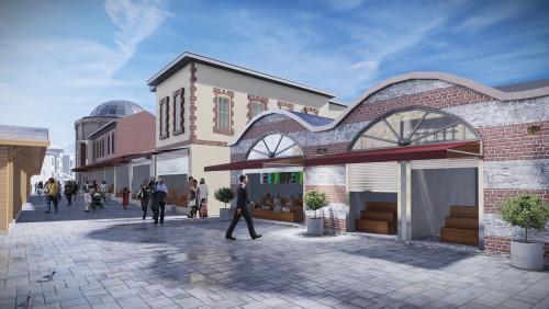 Tarihi Oyuncakçılar Çarşısı yeni çehresine kavuşuyor