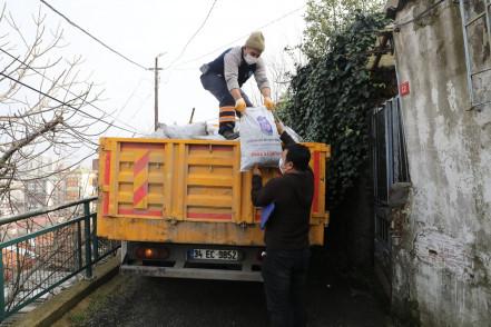 Bin 200 aileye kömür desteği