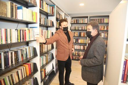 Eyüpsultan Merkez Kütüphanesi kapılarını açıyor