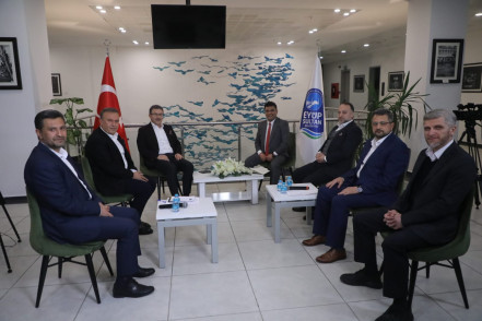 Başkan Deniz Köken: Eyüpspor ve Alibeyköy Spor'un başarısı önemli