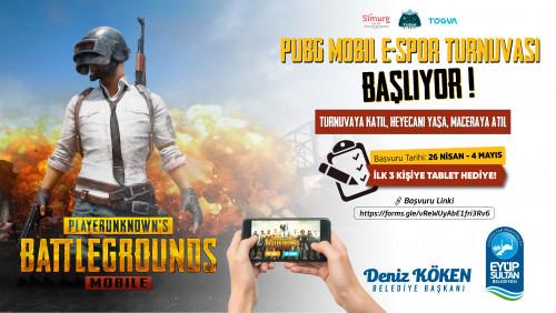 Eyüpsultan'da PUBG turnuvası heyecanı başlıyor