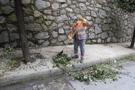 Sakarya ve Silahtarağa Mahalleleri'nde temizlik ve fiziki tarama yapıldı