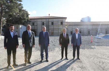 Cumhurbaşkanı Recep Tayyip Erdoğan, Rami Kışlası'nda incelemelerde bulundu