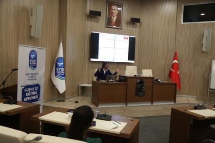 Eyüpsultan Belediye personeline TS ISO 10002 ve 31000 eğitimi verildi