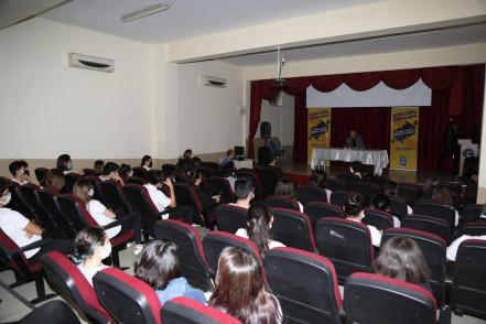 Başkan Köken Ali Rıza Özderici Lisesi'nde öğrencilerle buluştu