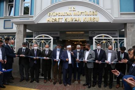 Hicret Kur'an Kursu hizmete açıldı