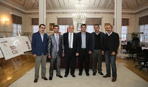 Hemşerilerinden Başkan Aydın'a Ziyaret