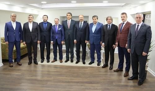 Başkan Aydın, 2. Bölge Belediye Başkanları Toplantısı'nda