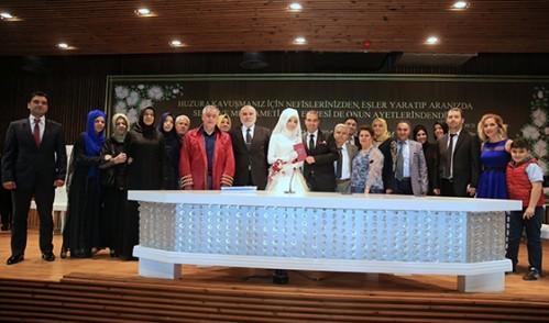 Kübra Yılmaz ve Cavit Şevk Nikah Töreni