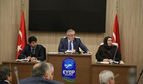 Eyüp Belediyesi 2016 Yılı Encümen ve Komisyon Üyelerini Seçti