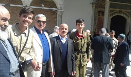 Eyüplü Yaşlılarımızla Tokatlı Gençler Topkapı Sarayı'nda Buluştu