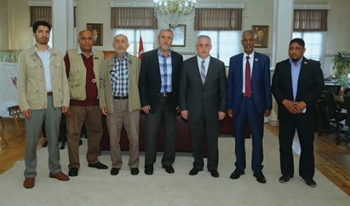Libya Ghadames Belediye Başkanı'ndan Ziyaret