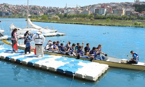 Haliç'te Su Sporları