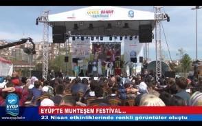 Eyüp'te Muhteşem Festival