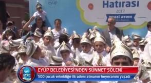 Eyüp Belediyesi'nden Sünnet Şöleni