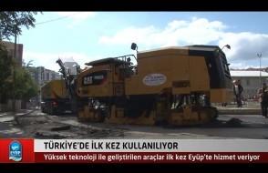 Türkiye'de ilk kez kullanılıyor