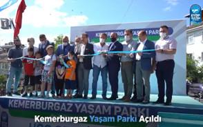 Kemerburgaz Yaşam Parkı Açıldı