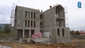 Yeşilpınar Mehmet Akif Ersoy Kültür Merkezimizin yapımı devam ediyor