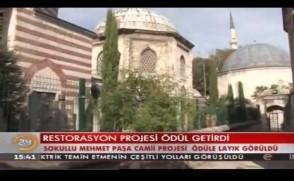 Kanal24 - Restorasyon projesi ödül getirdi