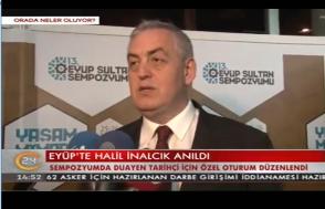 Kanal24 - 13. Eyüp Sultan Sempozyumu